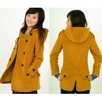Buy cheap Foodstuffs Smart Casual Pure wool jacket coat medium-and long self-cultivation product