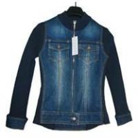 Buy cheap Apparel & Textile Jean Jackets Model Number: SH-001 product