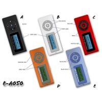 China MP3 PLAYER Flash MP3 Player with MMC/SD Slot and Retractable Male USB Model:E-A052 on sale