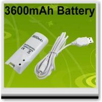 Buy cheap Video Games 3600MAH RECHARGEABLE BATTERY FOR NINTENDO WII REMOTE product