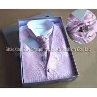 Buy cheap vest including necktie and packing V098025 product