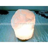 China Crystal White Natural Salt Lamps wholesale