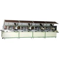 Buy cheap Automatic 4-colour cylinder UV Silk Screen Printer product