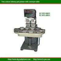 Buy cheap KC-SP2- two colours conveyer pad printer product