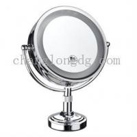China Sanitaryware Sided lighting makeup mirror on sale