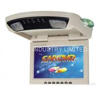 China Overhead Flip down monitor/ roof mounted with dvd player on sale