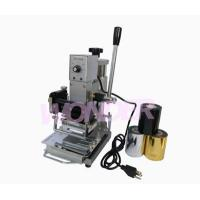 Buy cheap Fabrication equipment WTJ-90A Hot stamping machine product