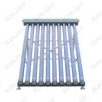 Metal-Glass Heat Pipe Solar Collector