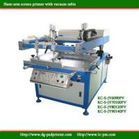 Buy cheap Tilted-arm vacuum table screen printer product