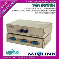 Buy cheap VGA Video Switch & Splitter MT-15-2C product