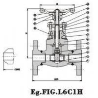 Buy cheap Forged Steel Valve Flanged End Globe Valve 150Lb~600Lb Steel product
