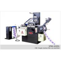 Buy cheap Hot Stamping / Die Cut Machine SPM-420DL product