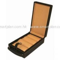 Buy cheap PU Leatherette 4-Storages Watch Box product