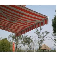 open heavy awning