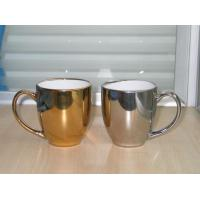 China Gilded & Silver Mugs GILDED & SILVER CERAMIC MUG wholesale