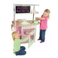 Wood kitchen play set quality wood kitchen play set for sale for Kids kitchen set sale