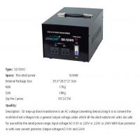 China EPS EMERGENCY POWER SUPPLY SD-5000 STEP-UP DOWN TRANSFORMER wholesale