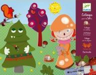 Buy cheap Djeco Children's Monsters Collage Craft Kit product