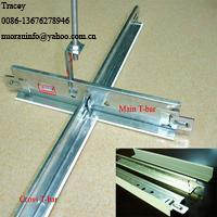 China Ceiling System ceiling t-bar wholesale