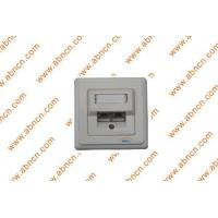 China Face plate & Surface mount box... Cat5e shielded wall outlet wholesale