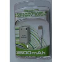 Buy cheap Accessory xbox 360 rechargeable battery product