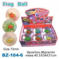 Glitter Bouncing Ball with Frog