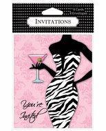 China You're Invited....... Girls Night Out Invitations (6 pack) wholesale