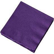 Buy cheap Dark Purple Divorce Party Napkins product