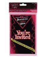 Buy cheap Divorce Party Invitations (6 Pack) product