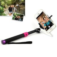 JHM-811 SELFIE Extendable Monopod with 3.5mm Jack Cable and Remote Button for iOS Android system