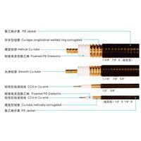 Radio Frequency Corrugated Copper tube Coaxial Cables(50ohms)