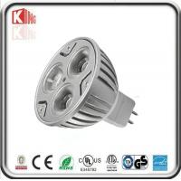 Buy cheap UL 3*3W MR16 Die casting LED Spotlight 45D product