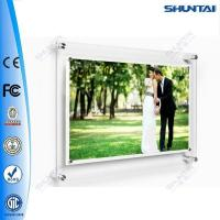 Wall mounted picture acrylic backlit crystal panel light box led