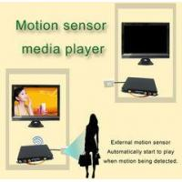 Buy cheap Portable Motion Sensor LCD Display Advertising Media Player For Restaurant Table product