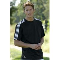 Buy cheap adidas ClimaLite 3-Stripes Golf Tee Shirt product