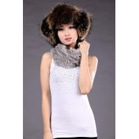 Buy cheap Sheep Leather+Raccoon Fur Hat product