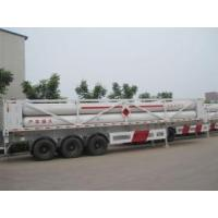 Buy cheap CNG jumbo cylinder trailer truck from wholesalers