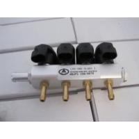 CNG injection rail and valves