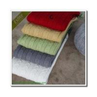 Buy cheap Cable Knitted Blanket product