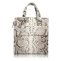 Buy cheap Famous designer luxury real python skin leather handbag tote bag for business from wholesalers