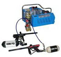 Buy cheap 3.0kw 4hp electric powered scuba air compressor , 20 minutes for 6L tank product