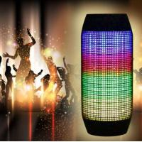 Buy cheap Portable Pulse LED Light Stereo Wireless Bluetooth Speaker from wholesalers