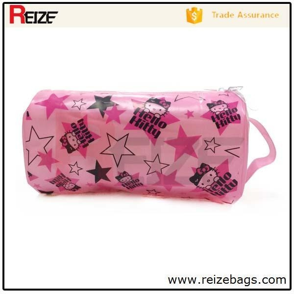 Quality 2015 Wholesale China factory pvc plastic beach bags for swimwear packing for sale