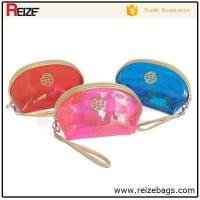 Buy cheap China supplier transparent pvc cosmetic bag hanging makeup case product
