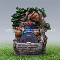 China Art pot fountains Hanging on the wall fountains wholesale