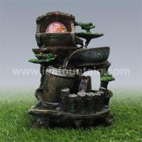 Buy cheap Tabletop Fountains Resin fengshui fountain product