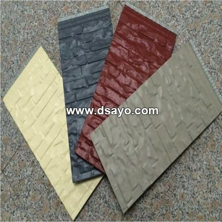 Metal Embossed Surface Composite Insulation Panel Exterior Wall Insulation Board Dso6001