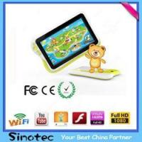 Buy cheap Children Tablet PC AllWinner A9 7 Inch Tablet For Kids SC-T16 from wholesalers