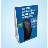 Buy cheap Best-A007 Paper advertising stand for promotion sale product