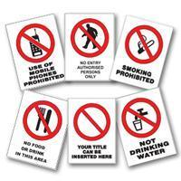 Buy cheap Prohibition Signs product